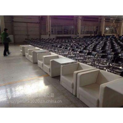 天津出租高档沙发 白色沙发皮墩租赁 租赁沙发凳