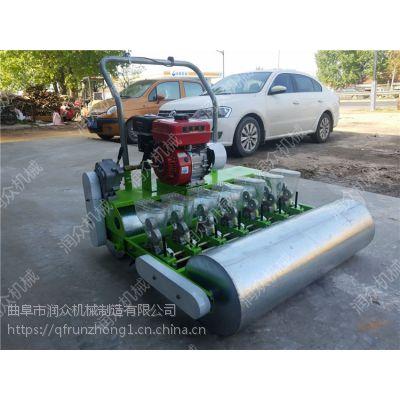 动力十足汽油播种机 轻便耐用蔬菜精播机 多行可定制蔬菜播种机