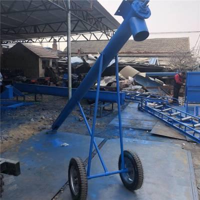 多功能垂直蛟龙提升机 润众 管式滚筒提升机