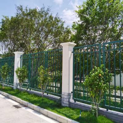 搅拌站围墙护栏现货 佛山锌钢围墙栅栏 惠州热镀锌隔离栏