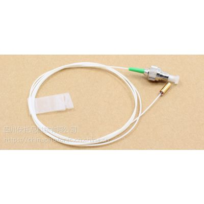 厂家直供1650nm,200mm工作距离单模光纤准直器镀金管封装低插入损耗