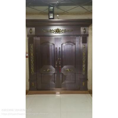 石家庄铜门定制 庭院铜门设计 别墅铜门安装