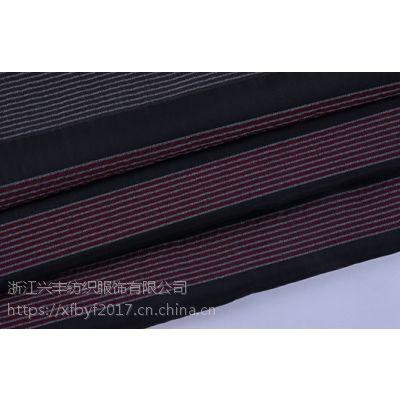 柯桥条纹提花服饰精品工厂面料F05653-1