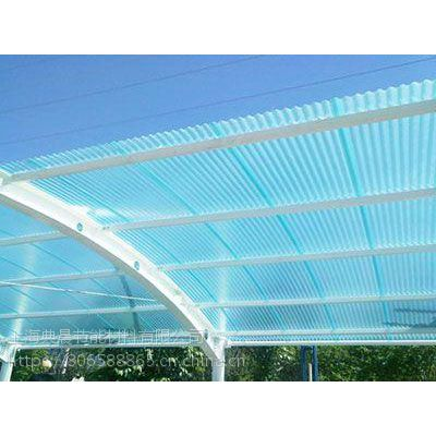 长沙米字型阳光板价格耐力板雨棚配件铝合金压条批发代理典晨品牌
