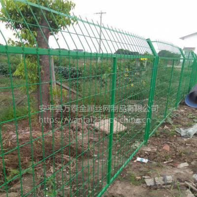 绿色浸塑框架围栏 围挡护栏网 园林防护栏