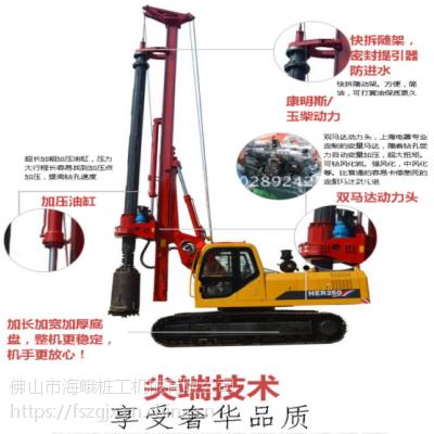 供应快速钻桩快速甩泥的旋挖钻机