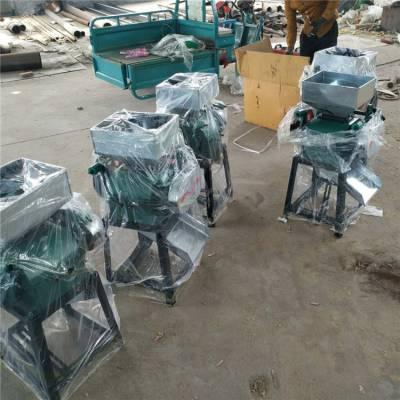 辽宁省家用小型高粱破碎机酿酒机械设备 花生米碎粒机 挤扁机信达直销