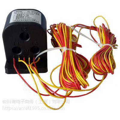 电流互感器的电路符号安科瑞AKH-0.66/Z-3*Φ10 50/25mA
