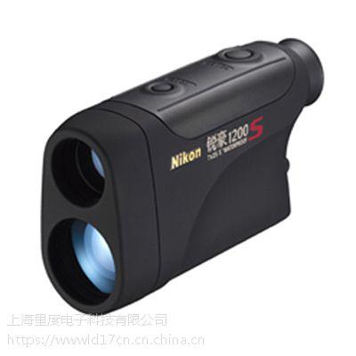 日本尼康1200S测距望远镜激光测距仪高尔夫专用