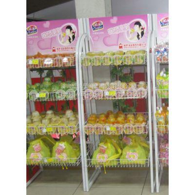 济南盛世星美金属制品生产果冻展架 小食品展示架休闲食品展架超市展示架