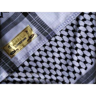 新款式阿拉法特提花头巾 Boutique Arafat Shemagh