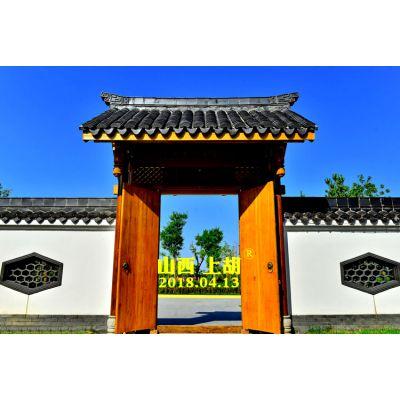 四合院木大门,农家古建大门图片,木质庭院大门