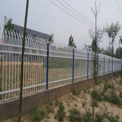 广州围墙防护栏杆 热镀锌围墙栅栏厂家 炎泽学校隔离栏