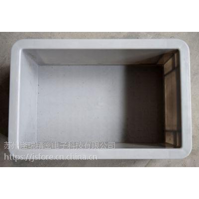 苏州滏瑞厂家供应EU2311周转箱外300-200-120可堆式周转箱
