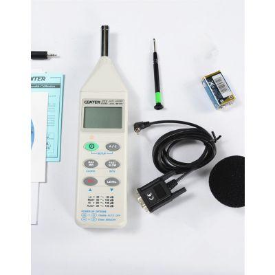 群特CENTER-322记忆式噪音计 噪音记录仪