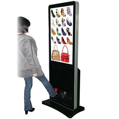 直销55寸mwe955立式安卓擦鞋网络版液晶广告机超薄高清款触摸一体机
