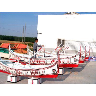 欧式景观船 6m欧式风格手划木船 外国风格旅游观光船 梓兴制造