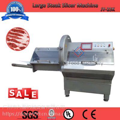 广州九盈机械大型砍排机JY-36K,小型中型切猪扒机,切牛排机价格多少,肉类加工厂切冻肉排机清销价
