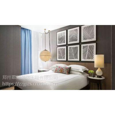 郑州酒店装潢设计 洗浴中心设计 中式酒店洗浴中心设计风格 君鹏装饰设计施工