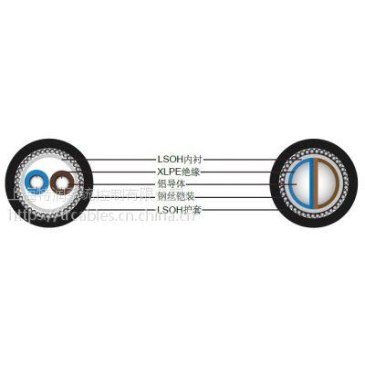 上海特润供应BS 6724标准铠装电力电缆, 600/1000V