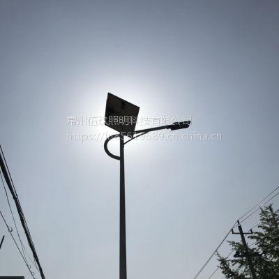 供应河南周口新农村特色扶贫亮化太阳能路灯庭院灯厂家 常州伍玖照明