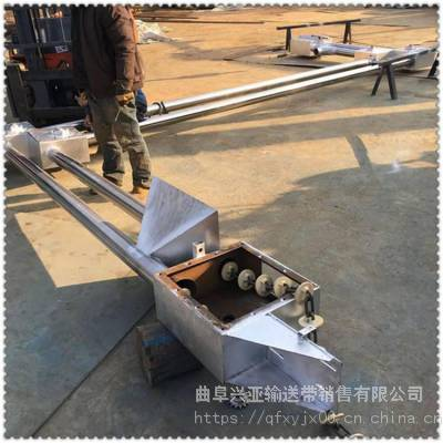 自动管链输送机批发厂家 陶土管链式输送机