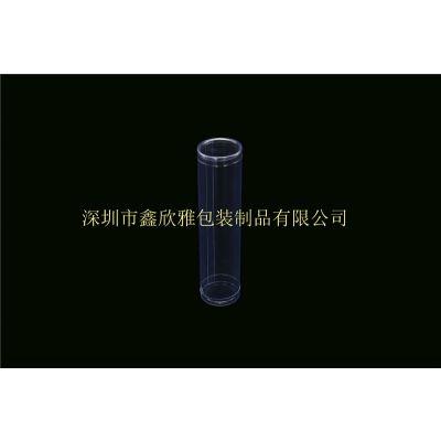 尺寸定制、优质圆筒盒包装pvc塑料制品小盒子、卷边透明圆筒