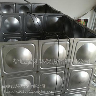 厂家供应浙江不锈钢隔板水箱 304材质定制循环运行 组合式供水设备