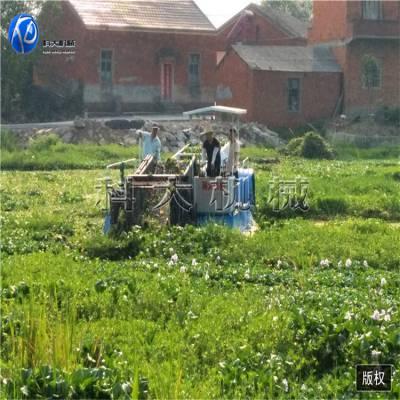 浙江湖面粉碎船 水葫芦收割打捞机械