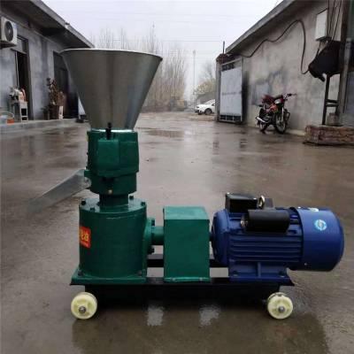 鸡鸭鱼猪饲料制粒机小型家用 再生塑料造粒机富兴 农业机械兔羊猪饲料颗粒机