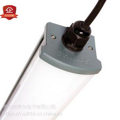 飞利浦LED三防灯1.2米0.6米WT066C防潮防水惠州