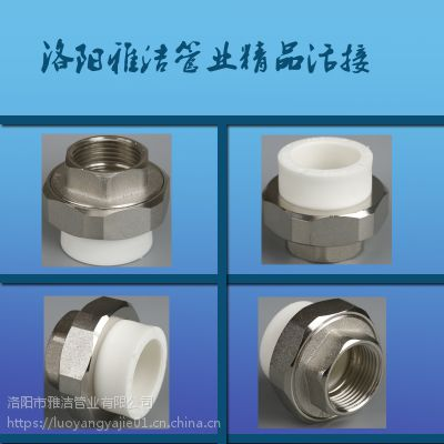 供应PPR内丝活接 螺纹活接 PPR管材配件 批发 厂家