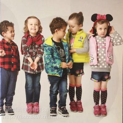 外贸童装批发分份货源 童装品牌折扣货源渠道