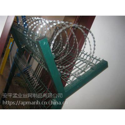 佛山监狱防护网@佛山带刀刺滚笼@看守所防护防爬网