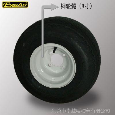 卓越电动车轮毂8寸轮胎钢轮毂钢圈厂家直销外贸货源