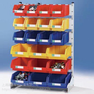上海厂家供应零件整理架 零件盒挂架 车间五金工具货架展示架