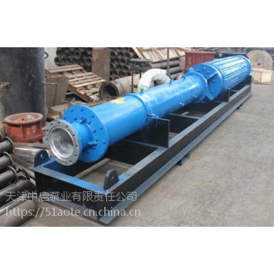 隧道排水大型潜水电泵_流量500方高扬程卧式潜水泵_津奥特