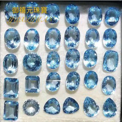 批发兼零售天然托帕石蓝色wholesale natural TOPAZ good quality