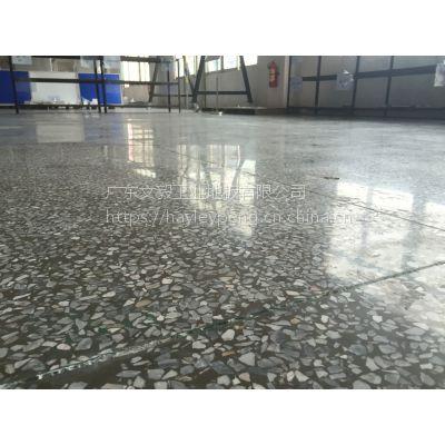 东莞市谢岗水磨石固化抛光-谢岗水磨石地面翻新打蜡