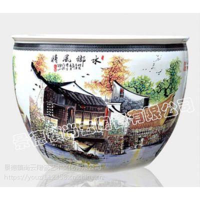 供应精品陶瓷手绘大缸