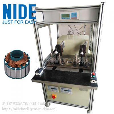 诺德全自动无刷电机线圈制造设备 BLDC外转子绕线设备定子单飞叉绕线机