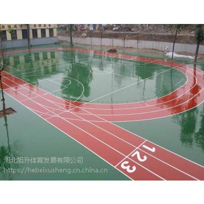 篮球场各种材料专业设计施工