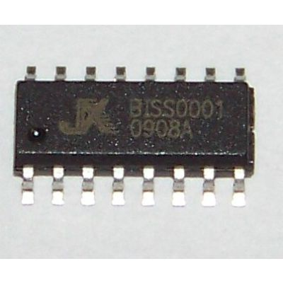 晶创和立供应热释电红外感应芯片BISS0001-SOP16