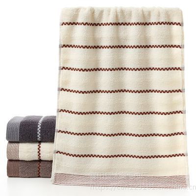 毛巾厂家直销纯棉水纹广告礼品回礼毛巾