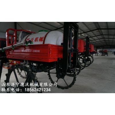 德沃机械自走式水稻打药机四轮打药机吉林白城代理商