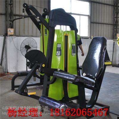 商用健身器材厂家/健身房专用必确系列坐式伸腿训练器厂家直销