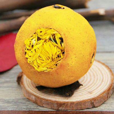 彝山香柠檬菊红茶保值12个月云南古树红茶水果金丝皇菊花茶批发