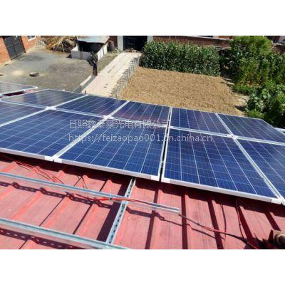 ◆诸城 高密 威海太阳能电池板厂家MUZI290001认证单晶硅发电板批发
