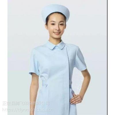 腾飞印染医用涤棉全棉40S32S护士服装手术衣面料及成衣