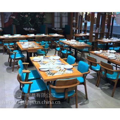深圳西餐厅家具厂实木桌子,订做实木椅子,设计师创意餐椅餐桌